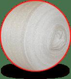 Polifoam for packaging