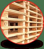 SIR de México: Wooden pallets