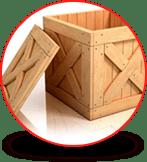 Cajas para embalaje y huacales de madera